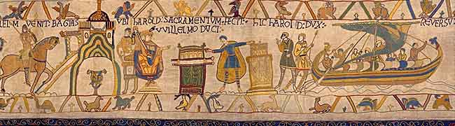 Victorian Bayeux Tapestry