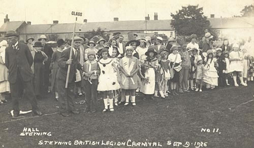 Carnival fancy dress 1926