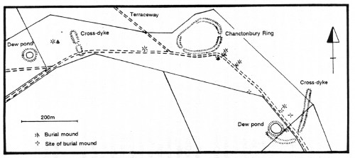 Chanctonbury Ring Map