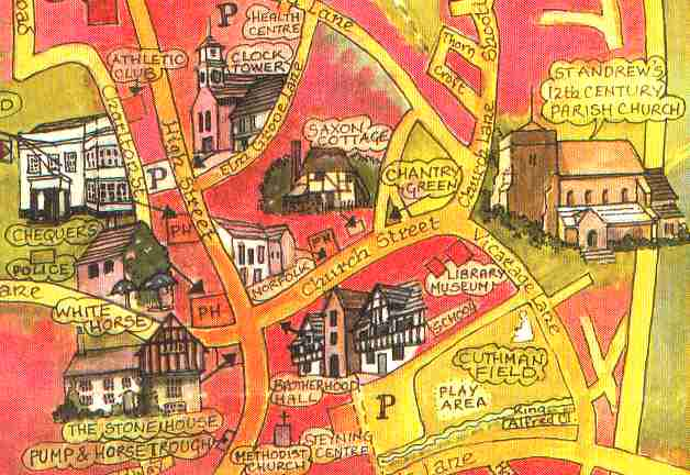 Steyning Local Map